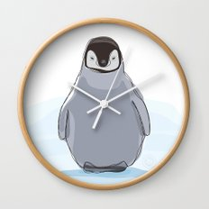 Emperor Penguin Wall Clock