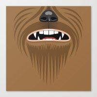 Chewbacca - Starwars Canvas Print
