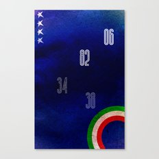 Italy World Cup Canvas Print