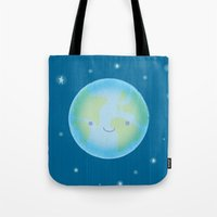 Happy Earth Tote Bag