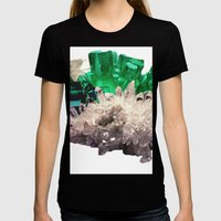 Crystal Visions Womens Fitted Tee Black SMALL