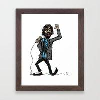Jarvis Cocker Pulp Framed Art Print