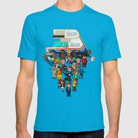 Super Arrested Developme… Mens Fitted Tee Teal SMALL