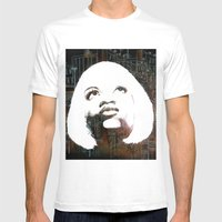Blonde Diva Mens Fitted Tee White SMALL