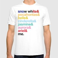 My Mom Says I'm A Prince… Mens Fitted Tee White SMALL