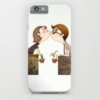 iPhone & iPod Case featuring Beso by José Luis Guerrero