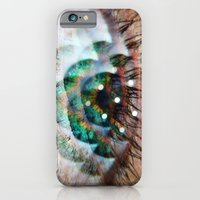 Green Eyed Beauty iPhone 6 Slim Case