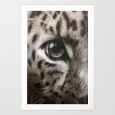 Leopard Eye Art Print
