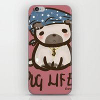 'Pug Life' iPhone & iPod Skin