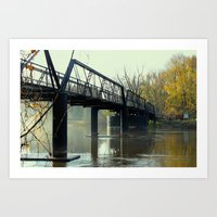 The Old 57th Street Bridge Art Print