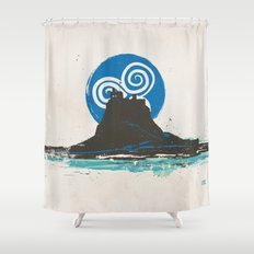 Holy Island of Lindisfarne, Northumberland, England Shower Curtain