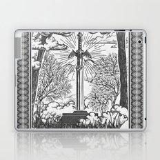 Legend of Zelda Master Sword Vintage Tarot Scene Laptop & iPad Skin
