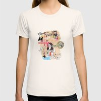 Florence, Italy Womens Fitted Tee Natural SMALL