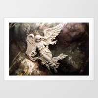 Ethereal Angel Art Art Print
