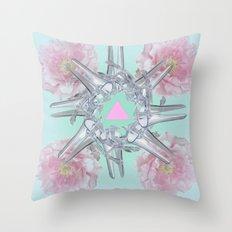 Halez Yea (in Mint) Throw Pillow