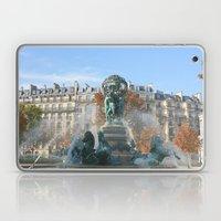 Paris Fountain Laptop & iPad Skin