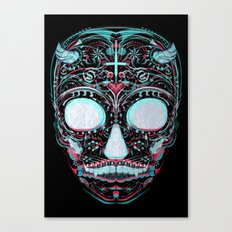 Sweets and Skulls Canvas Print