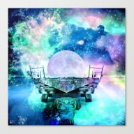 Fantasy Moon Canvas Print