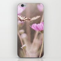 Chasing Butterflies iPhone & iPod Skin