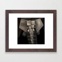 Elephant² Framed Art Print