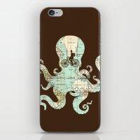 All Around The World iPhone & iPod Skin