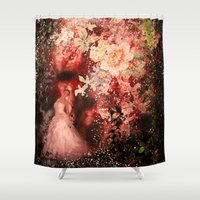 Into the stars Shower Curtain