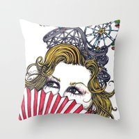 Ticket To Ride Throw Pillow
