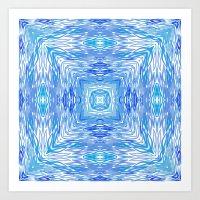 Ocean Kaleidos Art Print