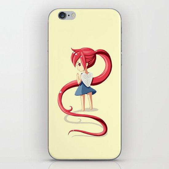 Ponytail iPhone & iPod Skin