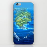 An Isolated Land Set In … iPhone & iPod Skin