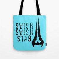 Swish, Swish, Stab - Hal… Tote Bag