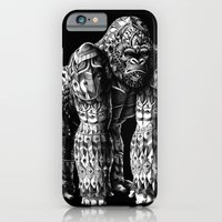 iPhone Cases featuring Silverback by BIOWORKZ