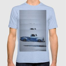 My First Truck Mens Fitted Tee Athletic Blue SMALL