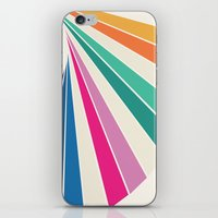 Fan of Color iPhone & iPod Skin