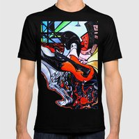 Musical Madness (origina… Mens Fitted Tee Black SMALL