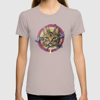 Sourpuss | Collage Womens Fitted Tee Cinder SMALL