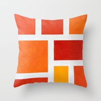 60's Mod Throw Pillow
