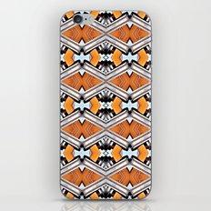 Orange and Neon iPhone & iPod Skin