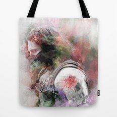 Winter Soldier Tote Bag