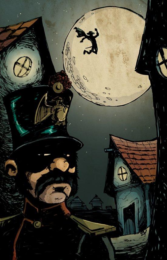 El Zorro Art Print