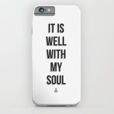 It Is Well Slim Case iPhone 6s