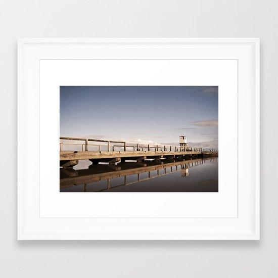 The Holy Island Framed Art Print