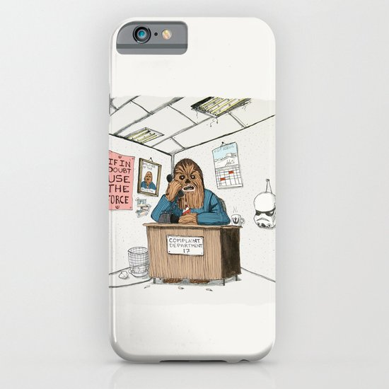 Chewwie at work iPhone & iPod Case