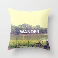 Wander Throw Pillow
