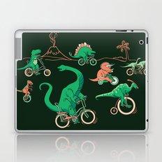 Dinosaurs on Bikes! Laptop & iPad Skin