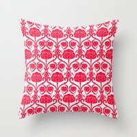 Blossomy Throw Pillow