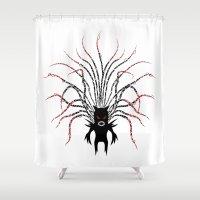 Karma Fairy [DARK] Shower Curtain