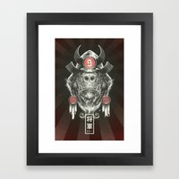 Shogun Executioner Framed Art Print