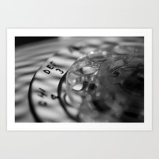Rotary phone  Art Print