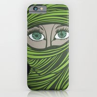 iPhone & iPod Case featuring veiled by MVMpapercuts